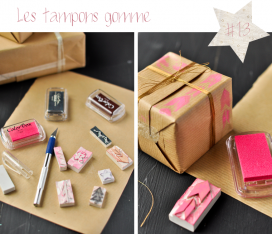 Les tampons gomme