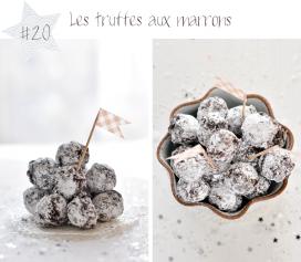 Les truffes aux marrons ou comment escalader le Mont-Blanc