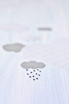 Des macarons dans les nuages