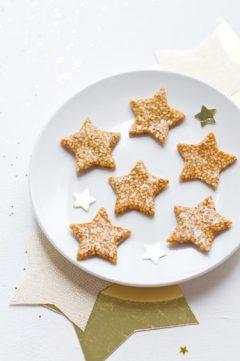 Des étoiles en nougatine