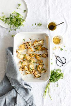 Salade de chou-fleur rôti