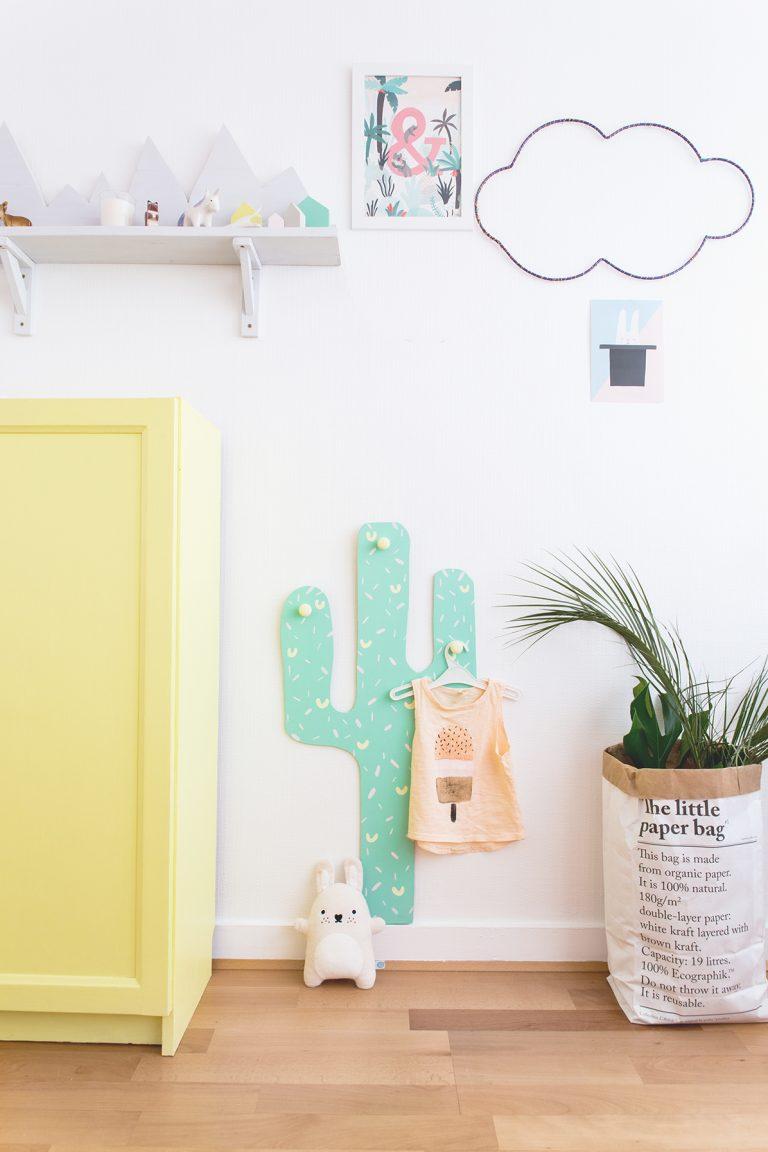 Gebruik een opbergzak als plantenpot