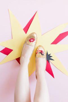 Des chaussures pop !