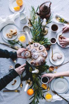 Le brunch de Noël – Cinnamon rolls