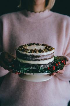 #2 Layer cake aux noix de pécan