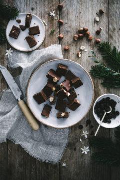 #20 Les fudges aux noisettes et chocolat