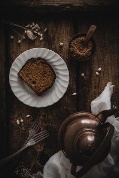 Cake à la purée de cacahuète