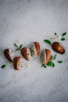 Les madeleines au citron