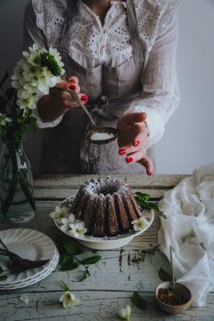 Le bundt cake marbré