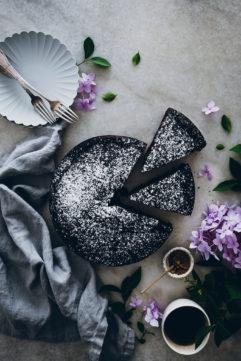 Le gâteau moelleux au chocolat