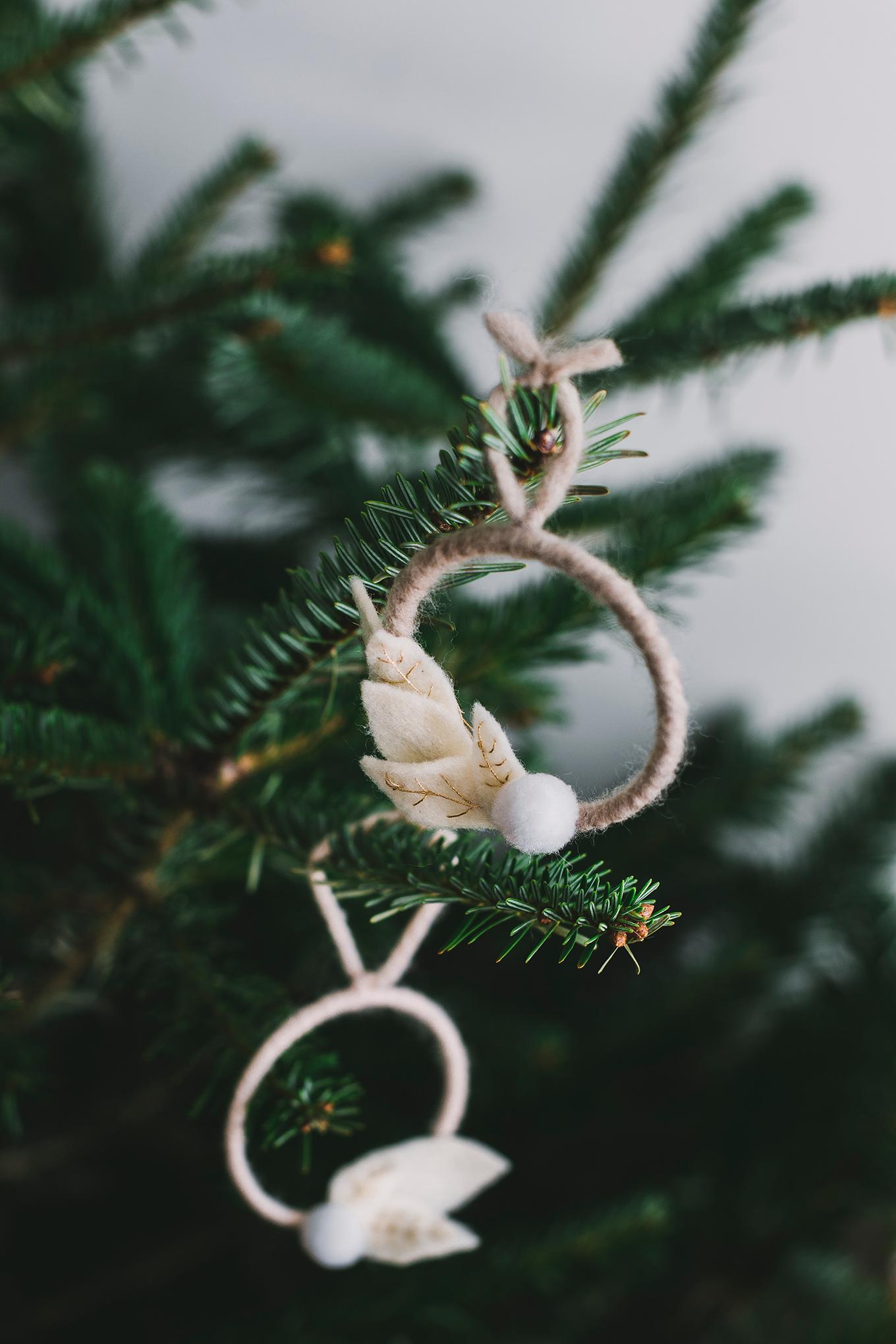 DIY Christmas ornament - Carnets Parisiens