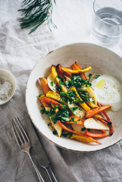 Salade pomme carotte
