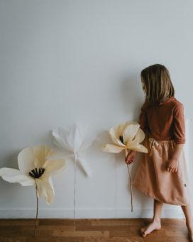 Les fleurs géantes en papier